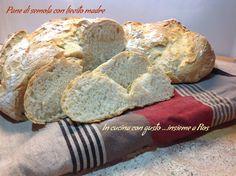 Pane con semola di grano duro e lievito madre