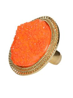 Crystal Rock Ring from ArdenB.com