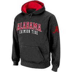 Alabama Crimson Tide Double Arches Hoodie - Charcoal