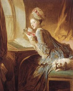 The Love Letter, c.1770-1780 Fragonard, Jean- Honore Painting Reproductions