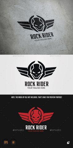 Rock Rider — Vector EPS #old school #toy • Available here → https://graphicriver.net/item/rock-rider/9603733?ref=pxcr
