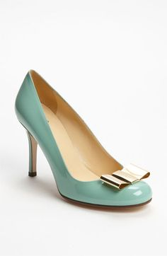 Once upon a time, in a land far far away, I used to wear heals like these (although typically not paying quite so much for them).  Oh how I would love these shoes, even now, maybe I can find some nice sweat pants to wear them with :-)    kate spade new york 'karolina' pump | Nordstrom