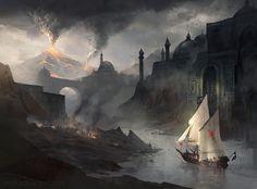 Perhaps later on in the series?[Barren Land by jcbarquet.deviantart.com on @DeviantArt]