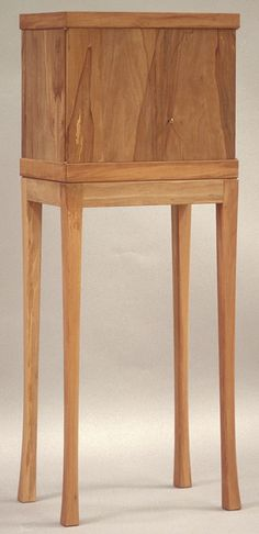 Pearwood Cabinet-on-Stand