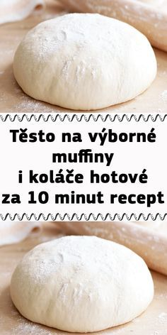 Czech Recipes, Yummy Treats, Ham, Food To Make, Deserts, Food And Drink, Pizza, Cooking Recipes, Sweets