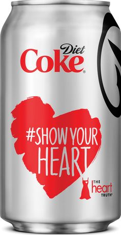 Show your heart Coca-Cola PD Coca Cola Can, Coca Cola Bottles, Coke Cans, Pepsi, Truth Campaign, Diet Coke, Printing Labels, Poster, Canning