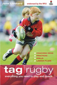 Endorsed by the RFU this book contains rugby coaching ideas, practices, drills and lesson plans for teaching TAG rugby. Rugby Drills, Rugby Games, Tag Rugby, Rugby Pictures, Rugby Coaching, Rugby Training, Womens Rugby, Pe Games, Physical Activities