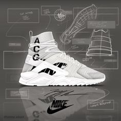 Nikelab Huarache Mid ACG inspired by the iconic ACG jacket. You guys  feeling these  46d6d65e2