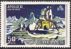 Seychelles 1969 Queen Elizabeth II SG 262 Fine Used Scott 257 Other Seychelles Stamps HERE