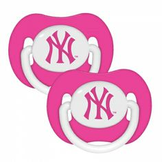 New York Yankees Baby Pacifier - Pink Baby G, Our Baby, Baby Kids, Yankees Baby, New York Yankees, Cute Kids, Cute Babies, Funny Pacifiers, Orthodontic Pacifier