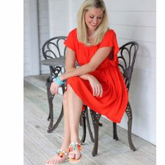 It's going to be a color-filled happy Easter weekend and this new @echonewyork dress will definitely be in the plans! A punchy pop of orange is just what we need! Swipe left  to see another peek then head to the site to snag this spring time must-have! #tfssi #stsimonsisland #seaisland #goldenisles #style #fashion #spring #spring2017 #springbreak #thatsdarling #theeverygirl #thehappynow #flashesofdelight #ootd #orange #happy #color #colorsplash #beach #travel #Easter #holidayweekend…