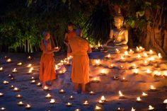 Reverence to the teacher, Buddha Photo by Apisit Wilaijit — National Geographic #buddhist #buddhism #monks