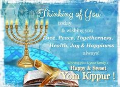 Pray for the wellbeing of your Jewish friends on the auspicious day of #YomKippur.