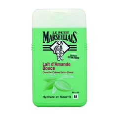 Le Petit Marseillais Shower Cream Sweet Almond - France at Home Sweet Almond Oil, Almond Milk, One Tree, Take Care Of Yourself, Biodegradable Products, Creme, Cleanse, Moisturizer, Fragrance