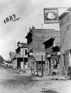 Welcome to the Wild West! Anaheim in 1887 looked just like a scene out of a cowboy movie. www.jeffreymarkell.com #orangecountyrealtor #jeffforhomes #luxury