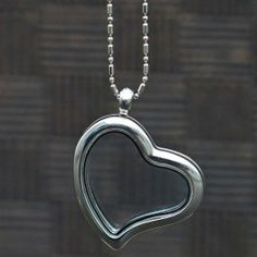 Heart Locket Necklace with the little adorb charms!