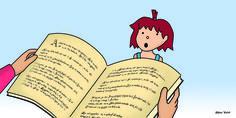 """Fragmento de mi interpretación del libro ilustrado """"Las princesas también se tiran pedos"""""""