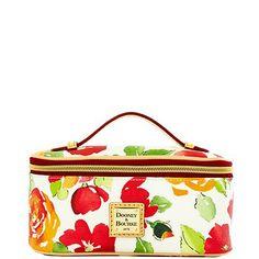 Dooney & Bourke: Rose Garden Zip Around Cosmetic Case