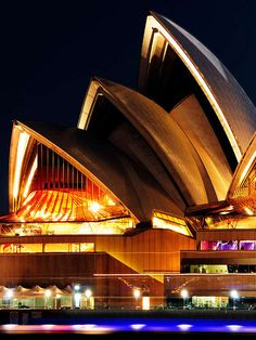 Night time at The Sydney Opera House by Bhaskar Sahay, via Flickr #Australia