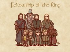 The hobbits are so adorable! Awwww <3