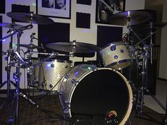 My DW Broken Glass Collector's Maple Beat Em Up, Drum Sets, Broken Glass, Drums, Music Instruments, Amazing, Percussion, Percussion, Musical Instruments