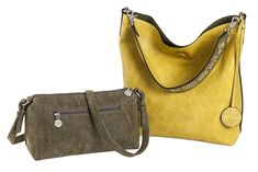 Check out our Olive Suede and Peridot Yellow SALE Sydney Love Ladies Reversible Hobo Bag with Inner Pouch! Find the best tennis gear and accessories at Lori's Golf Shoppe. Click through now to see this Hobo Bag with Inner Pouch!