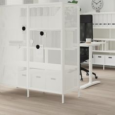 Read about the terms in the Limited Warranty brochure. Ikea Shelves, Shelving, Ikea Room Divider, Ikea Bekant, Office Room Dividers, Office Desk, Ikea Kallax Hack, Office Furniture Design, Ikea Home
