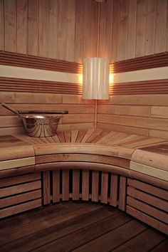 A hot steamy sauna with eucalyptus vapors.  My rec center happy place!