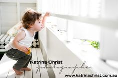 Photographing your children around your home is so much fun. Coming across funky little areas with beautiful light. Professional Portraits in your home... BRISBANE http://www.katrinachrist.com.au/