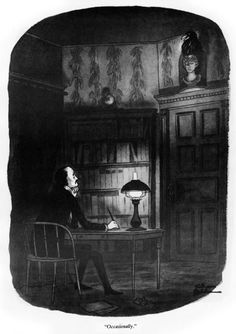 Artwork by Charles Addams ~~ Poe Raven. Original Addams Family, Addams Family Cartoon, Charles Addams, Gothic Culture, Cartoon Books, Art Story, Creepy Art, Creature Comforts, Surreal Art