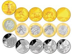 Olympic Coins   Rio 2016