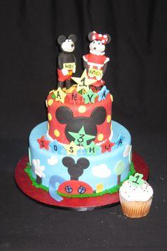 first birthday cake by Sweet Beginnings