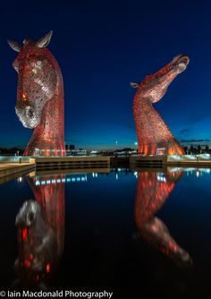 The Kelpies 2 - Falkirk - Scotland.To book go to www.notjusttravel.com/anglia