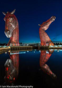 The Kelpies 2 - Falkirk - Scotland
