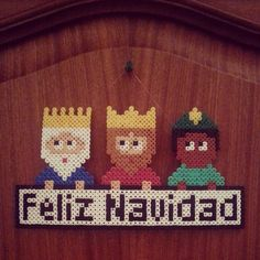 Feliz Navidad - Merry Christmas hama beads by sonmisdetalles