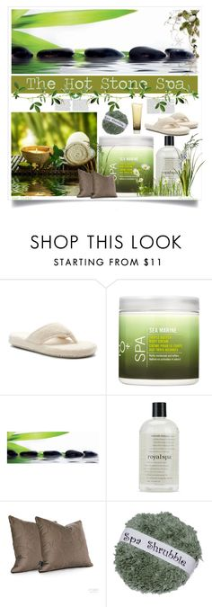 """""""The Hot Stone Spa"""" by nonniekiss on Polyvore"""