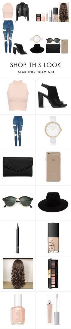 """Untitled #545"" by kalieh092 on Polyvore featuring WearAll, Michael Kors, Topshop, River Island, LULUS, Agent 18, Ray-Ban, rag & bone, NARS Cosmetics and Yves Saint Laurent"