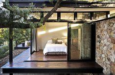 Une chambre design en toute lumière