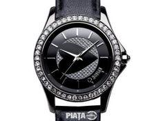 Vestimentatie, Bijuterii, accesorii, Ceas Morgan Diamond Curea Piele, imaginea 1 din 3 Watches, Fashion, Moda, Wristwatches, Fashion Styles, Clocks, Fashion Illustrations