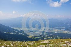 #View From Mt. #Mirnock Into #Drautal #Valley @dreamstime #dreamstime #ktr15 @carinzia #nature #landscape #travel #carinthia #austria #sightseeing #holidays #summer #season #spring #outdoor #hiking #leisure #mountains #stock #photo #portfolio #download #hires #royaltyfree