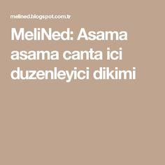 MeliNed: Asama asama canta ici duzenleyici dikimi