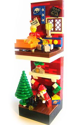 "LEGO Christmas. ""So be good for goodness sake!"" by Dave Shaddix"