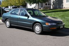 1996 Honda Accord - We leased this one when our first daughter was born. I never looked ked the color.