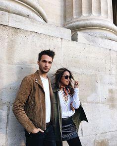 Parisian love | wearing @thekooplesofficial #thekooplesday ❤️