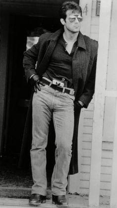 """Sylvester Stallone in """"Cobra"""" 1986"""