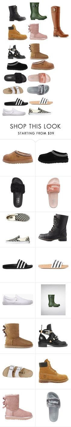 """nn"" by cuteoutfits4you on Polyvore featuring UGG, UGG Australia, Puma, Vans, Charlotte Russe, adidas Originals, Hunter, Balenciaga, Birkenstock and Timberland"
