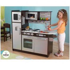Découvrez cette immense Cuisine en bois pour enfant !! http://www.bebegavroche.com/cuisine-en-bois-jouet-kidkraft-expresso.html
