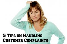 Five Tips on Handling Customer Complaints | The Tiny Bee Blog