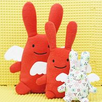 Ange Lapin (bunny angel) 大きさの比較です
