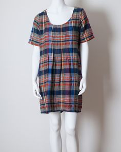 Ace & Jig Cabin Plaid Shop Dress | Covet and Lou